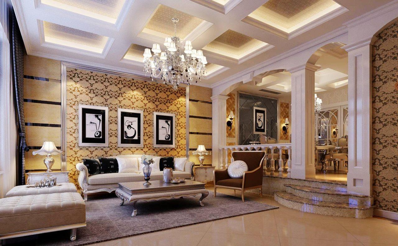 صورة ديكورات غرف الجلوس , تصميمات غرف جلوس شيك