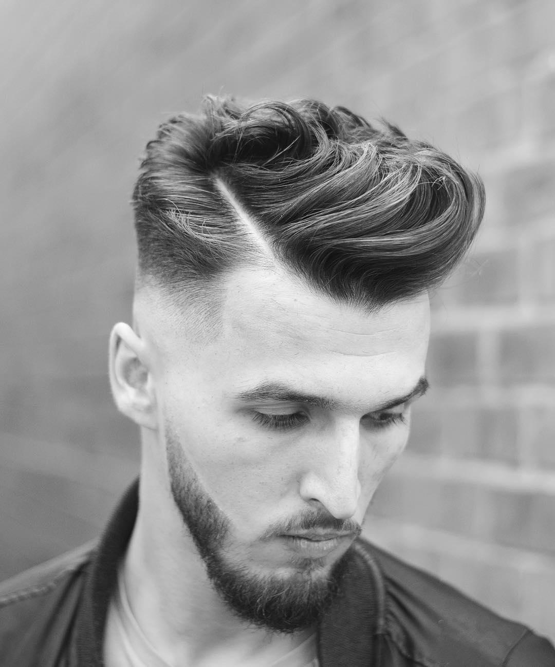 بالصور اجدد قصات الشعر للشباب , احدث صيحات الموضه لقصات الشعر 2084 6