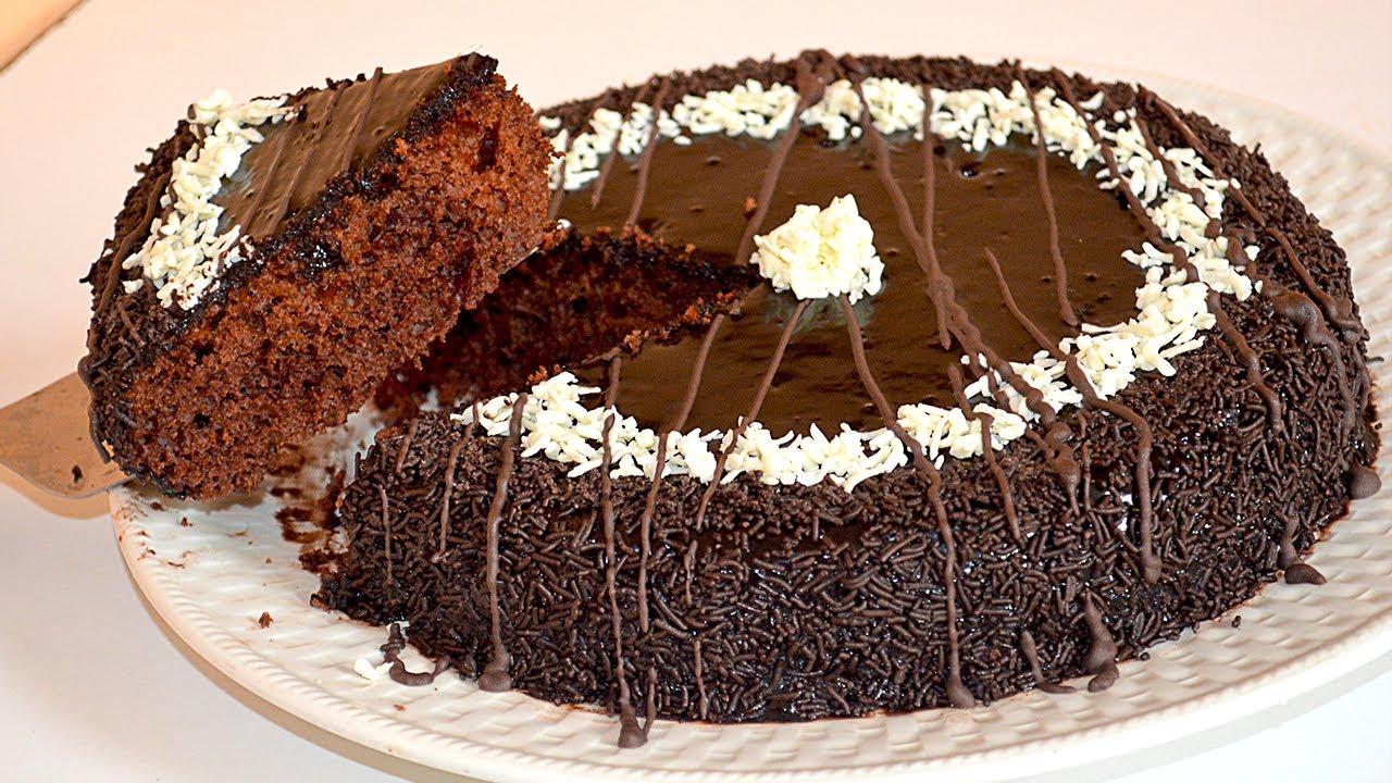 صورة منال العالم كيك الشوكولاته , كيكه الشيكولاته علي طريقه الشيف منال العالم