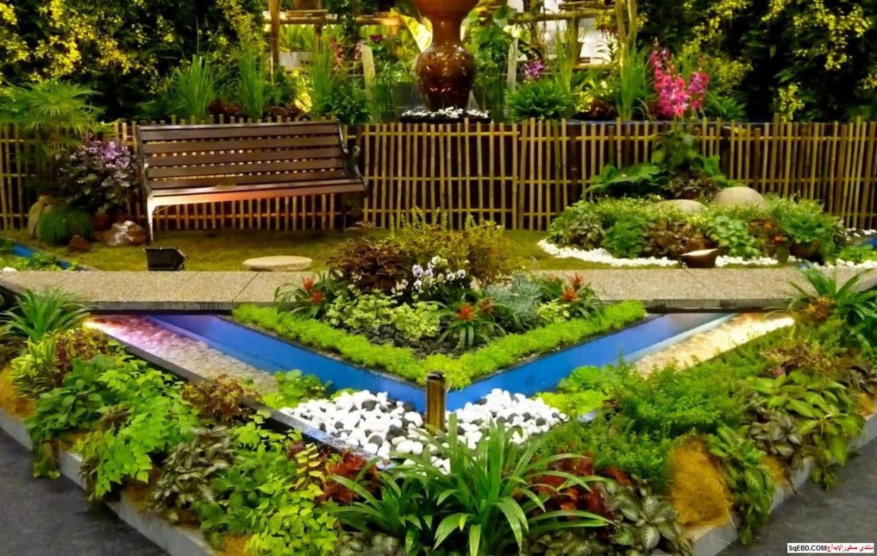 بالصور تصميم حدائق منزلية بسيطة , اجمل صور للحدائق المنزليه 4565 12