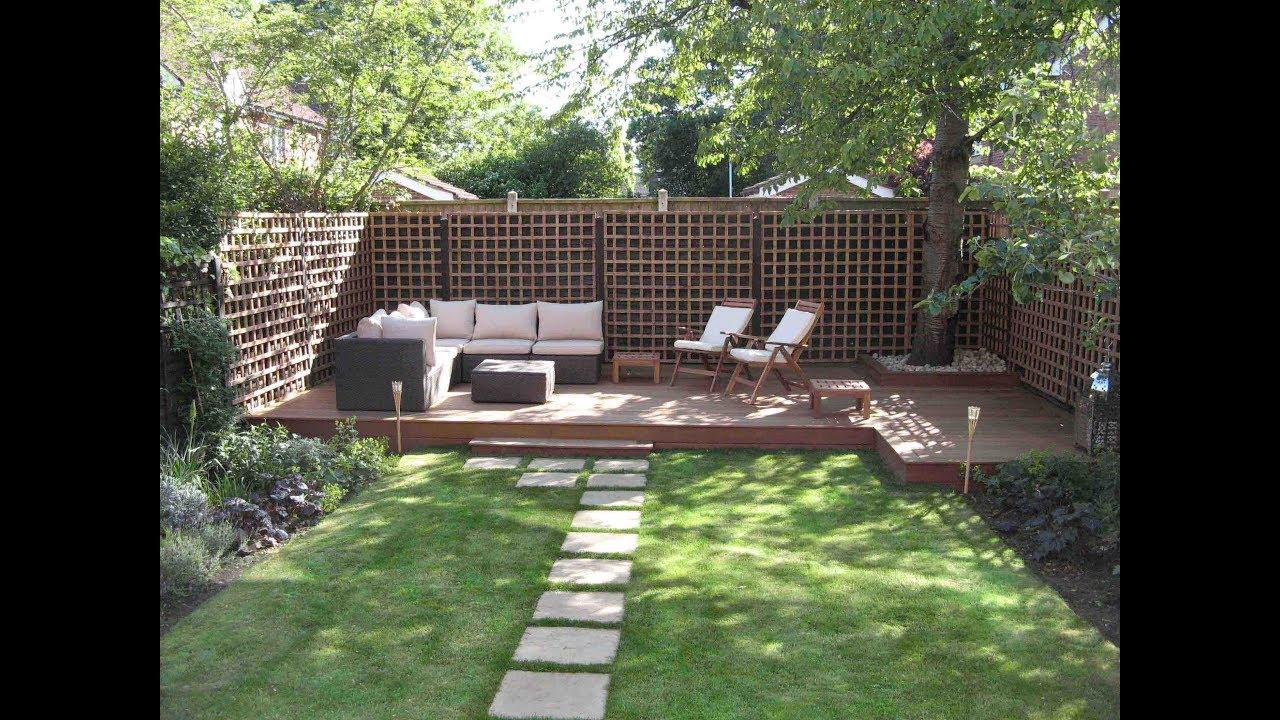 بالصور تصميم حدائق منزلية بسيطة , اجمل صور للحدائق المنزليه 4565 3