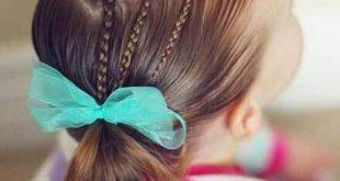 صور بالصور تسريحات شعر للبنات , تسريحه جميله للفتيات