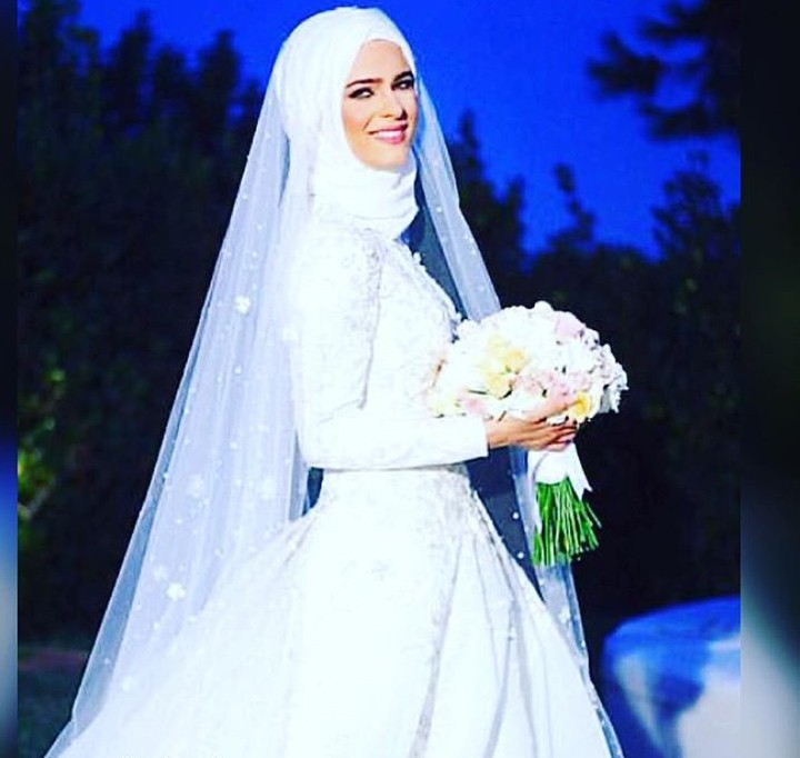 بالصور صور عروسات محجبات , اجمل صورة للعرايس المرتديه حجاب 4644 14