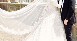 صور صور عروسات محجبات , اجمل صورة للعرايس المرتديه حجاب