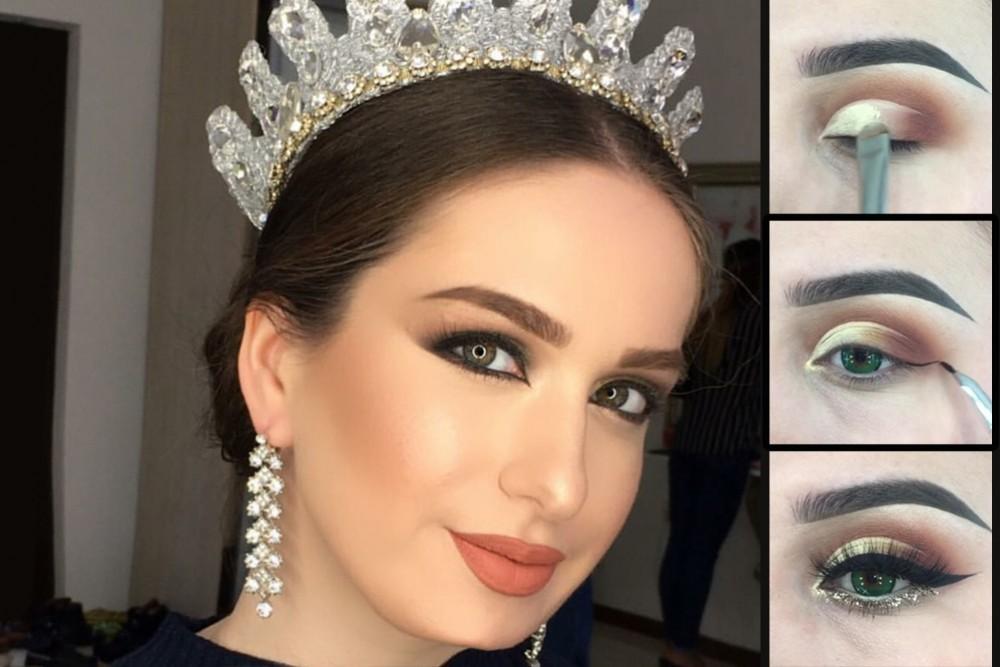 بالصور صور مكياج عيون عروس , مكياج للعرايس والفتيات 4670 14
