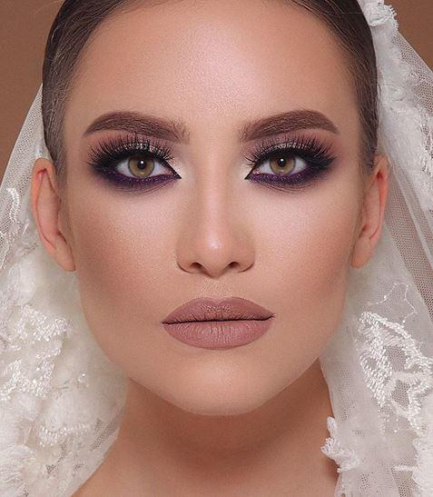 صورة صور مكياج عيون عروس , مكياج للعرايس والفتيات