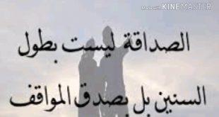 بالصور شعر قصير عن الصداقه , اجمل ما قيل عن الصداقه 4672 14 310x165