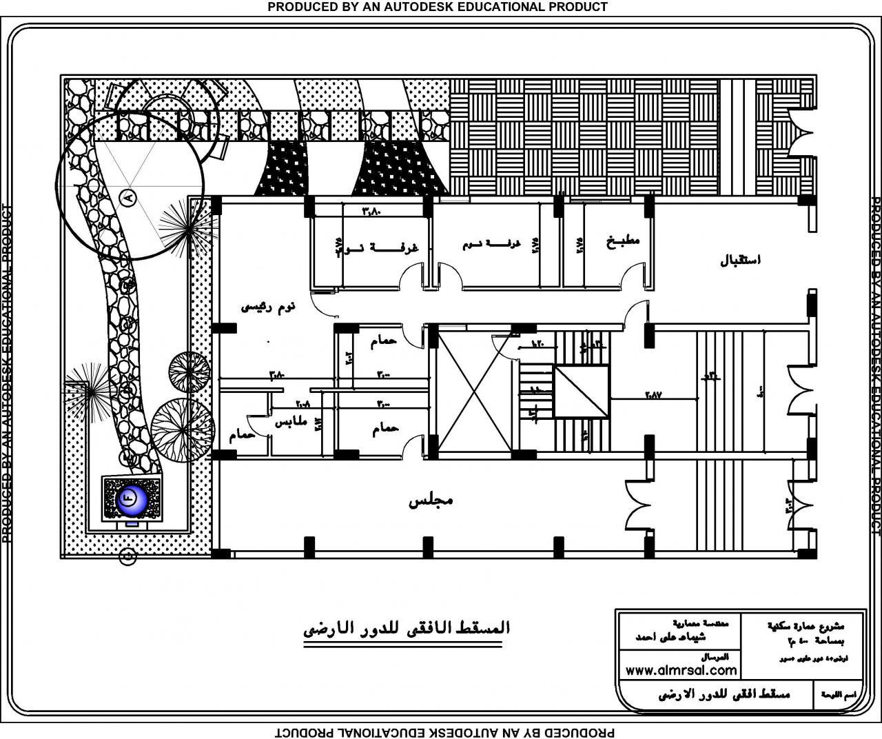 بالصور خرائط منازل 400 متر مربع , منازل بمساحات شاسعه 4737 10