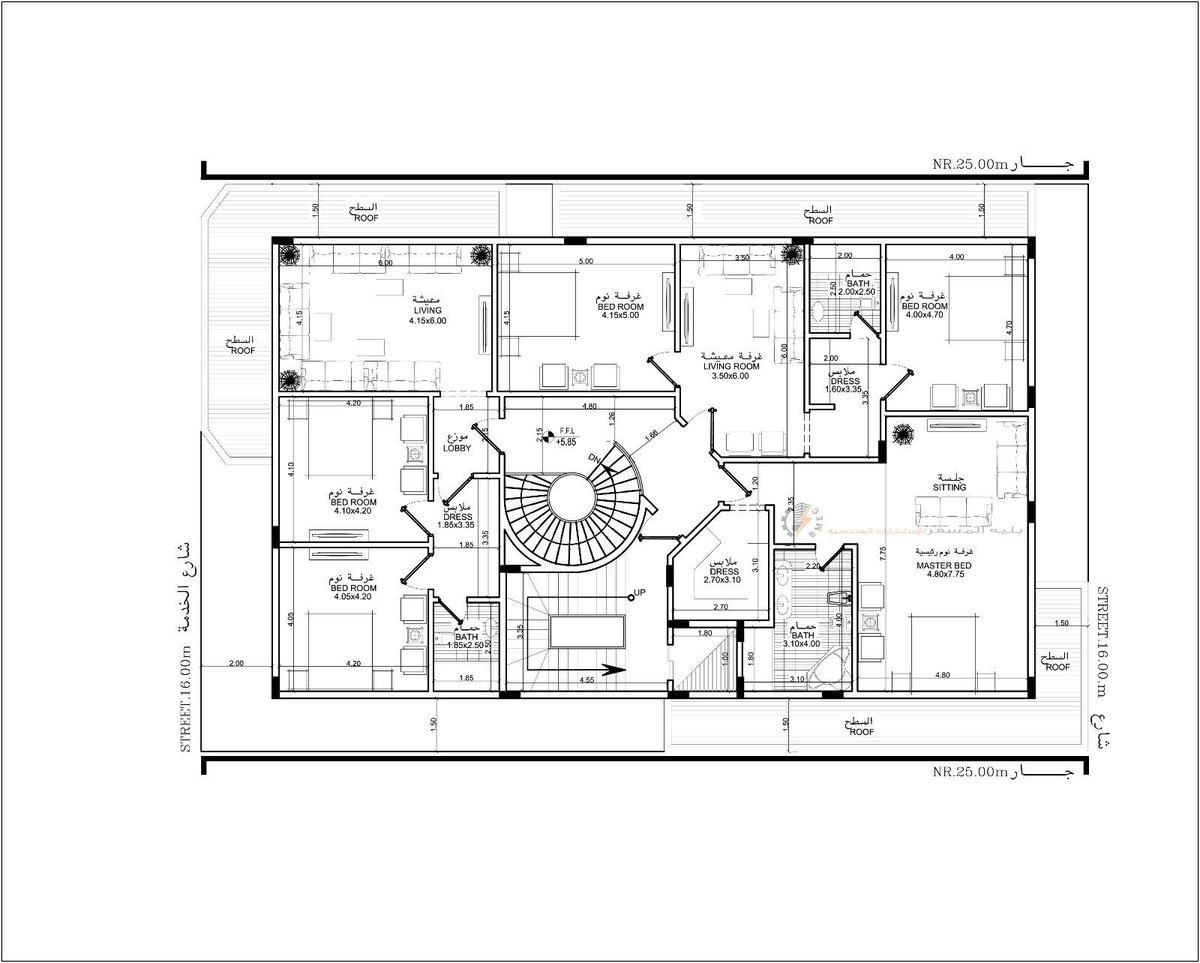 بالصور خرائط منازل 400 متر مربع , منازل بمساحات شاسعه 4737 11
