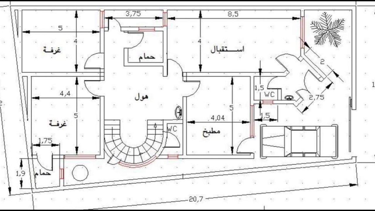 بالصور خرائط منازل 400 متر مربع , منازل بمساحات شاسعه 4737 12