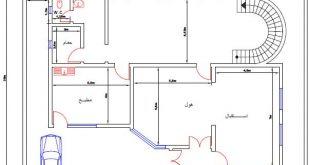صور خرائط منازل 400 متر مربع , منازل بمساحات شاسعه
