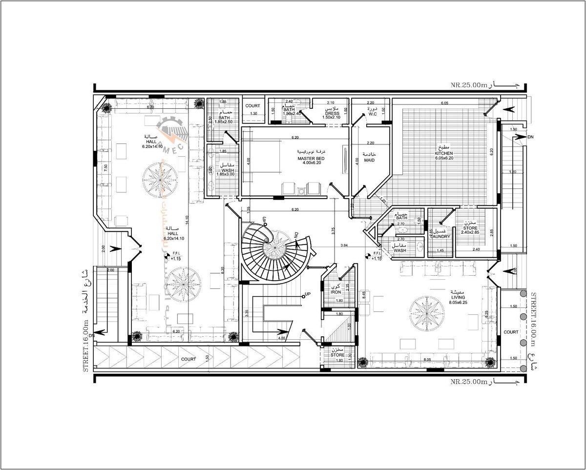 بالصور خرائط منازل 400 متر مربع , منازل بمساحات شاسعه 4737 3