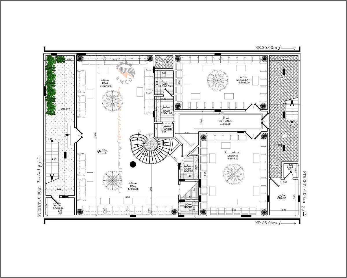 بالصور خرائط منازل 400 متر مربع , منازل بمساحات شاسعه 4737 5
