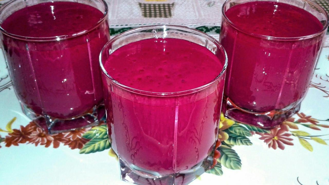 صور كيفية عمل عصير الشمندر , كيفيه صنع الشمندر كعصير