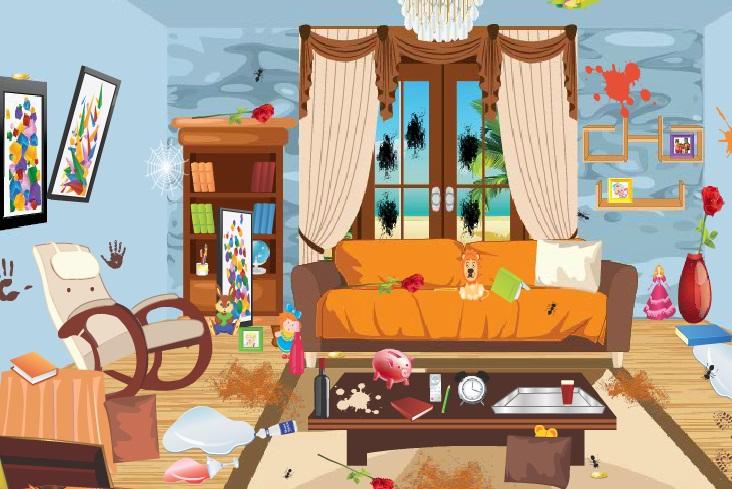 صور العاب تنظيف منزل باربى , العاب بنات جديده