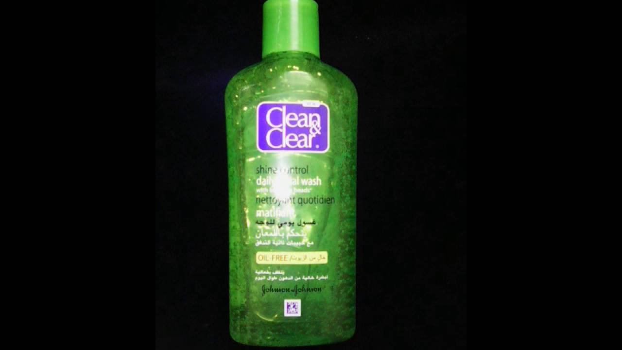 بالصور غسول clean and clear للبشرة الدهنية , انواع غسول مميزه للبشره الدهنيه 2130 6