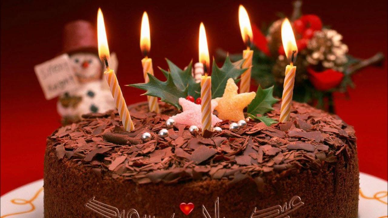 بالصور تورتات اعياد ميلاد بالصور , اشكال تورتات لمناسبه عيد الميلاد 2218 3