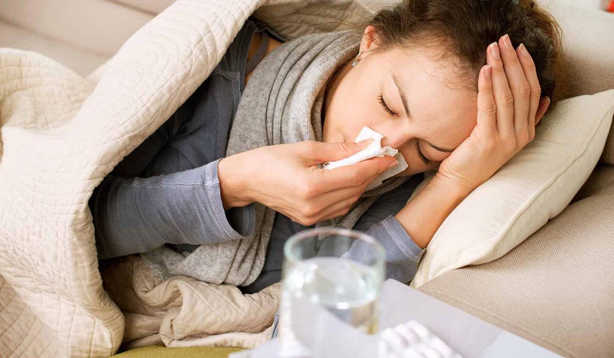 صورة علاج سيلان الانف والزكام , طرق علاج الزكام في المنزل