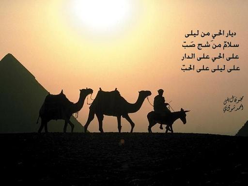 بالصور شعر لیلی و مجنون , اشعار عربيه قديمه 2256 7