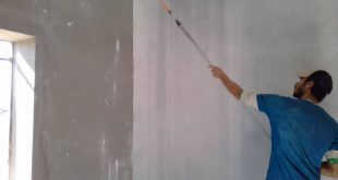 بالصور طريقة دهان الجدران بالمعجون , اساسيات لاستخدام المعجون علي الحائط 2352 12 310x165