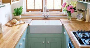صور تصميم مطبخ صغير جدا , ديكورات مطابخ ضيقه