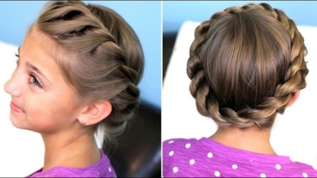 صورة تسريحات شعر مدرسية , صور تسريحات شعر بسيطه