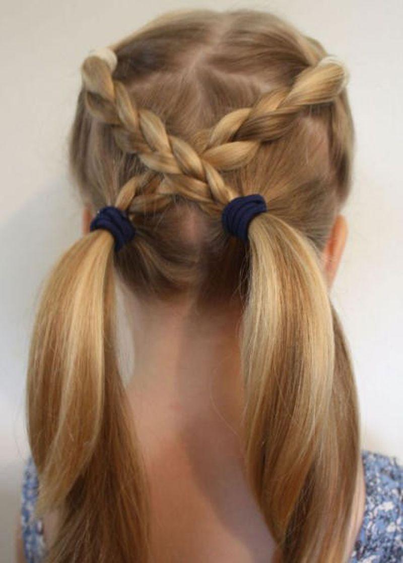 بالصور تسريحات شعر مدرسية , صور تسريحات شعر بسيطه 2442 3