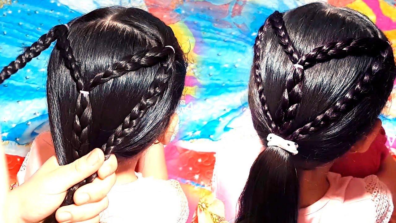 بالصور تسريحات شعر مدرسية , صور تسريحات شعر بسيطه 2442 9