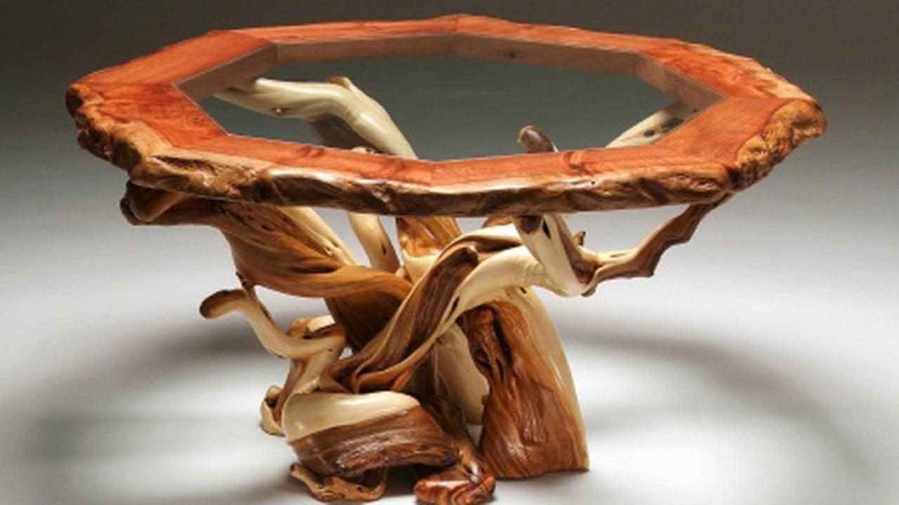 بالصور ديكورات من جذوع الشجر , ديكورات منزليه من الاخشاب 2448 5