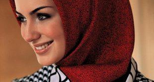 صور طرق لف الحجاب التركي , لفات حجاب جديده وعصريه