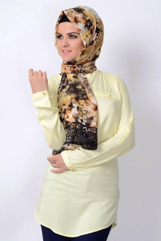 بالصور طرق لف الحجاب التركي , لفات حجاب جديده وعصريه 2457 6
