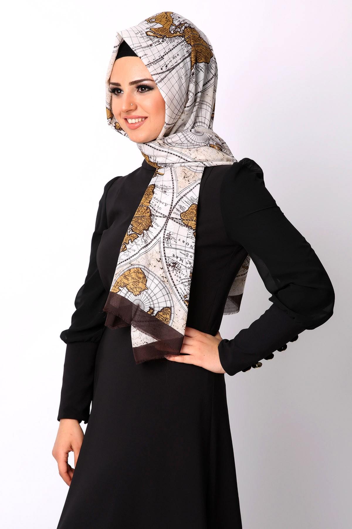 بالصور طرق لف الحجاب التركي , لفات حجاب جديده وعصريه 2457 8