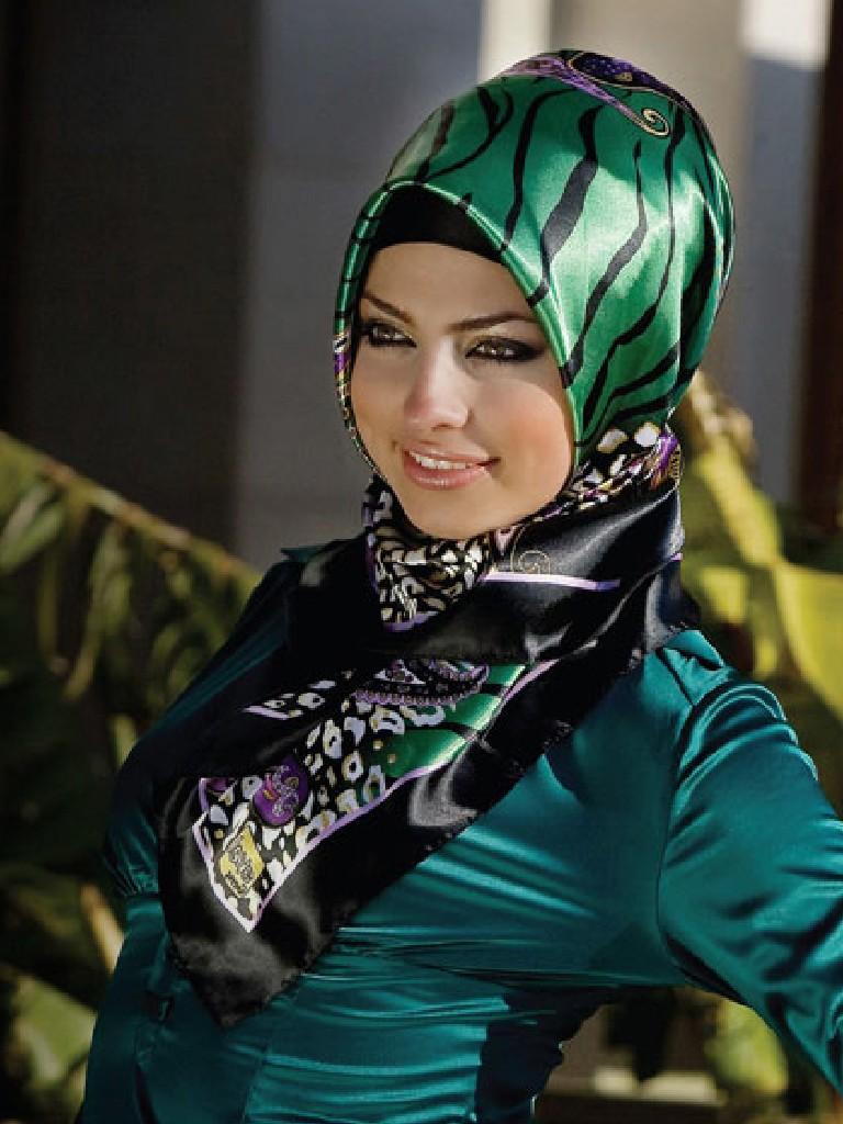 بالصور طرق لف الحجاب التركي , لفات حجاب جديده وعصريه 2457 9