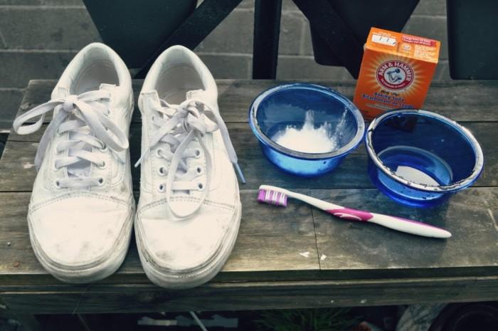 بالصور تنظيف الحذاء الابيض , طرق تنظيف الاحذيه البيضاء 2467 1