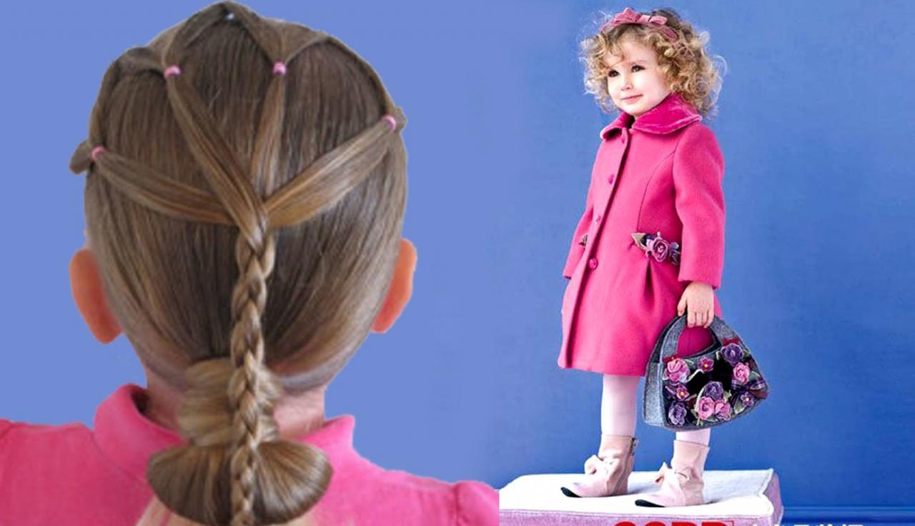 بالصور صور تسريحات للاطفال , صور تسريحات شعر للبنات الصغيره 2480 5