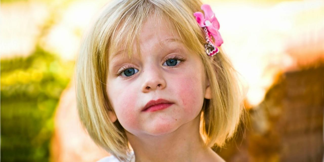 بالصور صور تسريحات للاطفال , صور تسريحات شعر للبنات الصغيره 2480 8