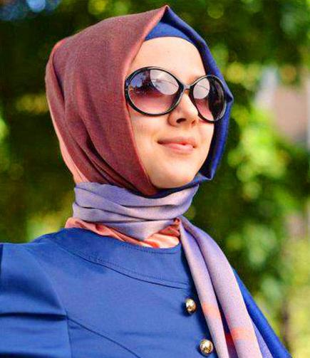 صورة اجمل امراة متحجبة , ملكه جمال المحجبات