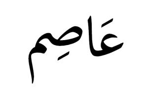 صورة معني اسم عاصم , صفات حامل اسم عاصم