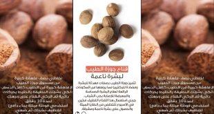 صور فوائد جوزة الطيب للبشرة , جمالك وجوزة الطيب