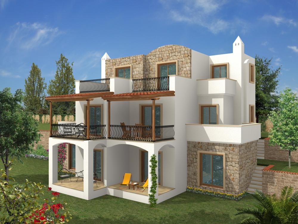 صور تصاميم بيوت من الخارج , ارقى التصاميم الخارجية للبيوت