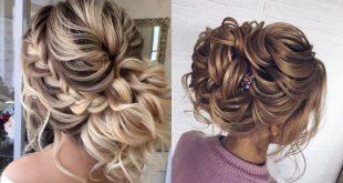 صور تسريحات شعر للاعراس 2019 , شعرك هو جاذبيتك تسريحات للعرايس