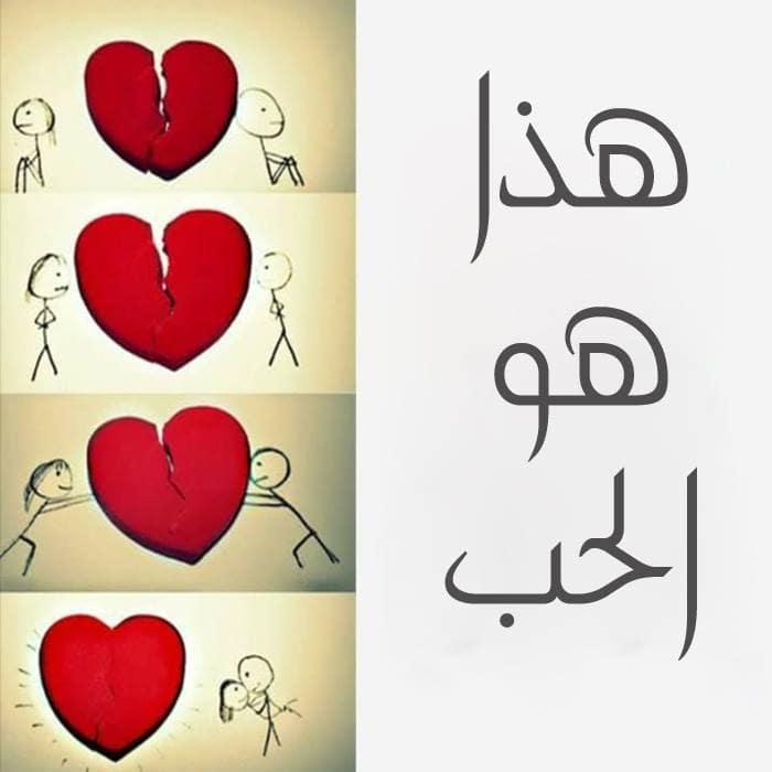 صورة كلام الحب قصير , اجمل ما قيل فى الحب