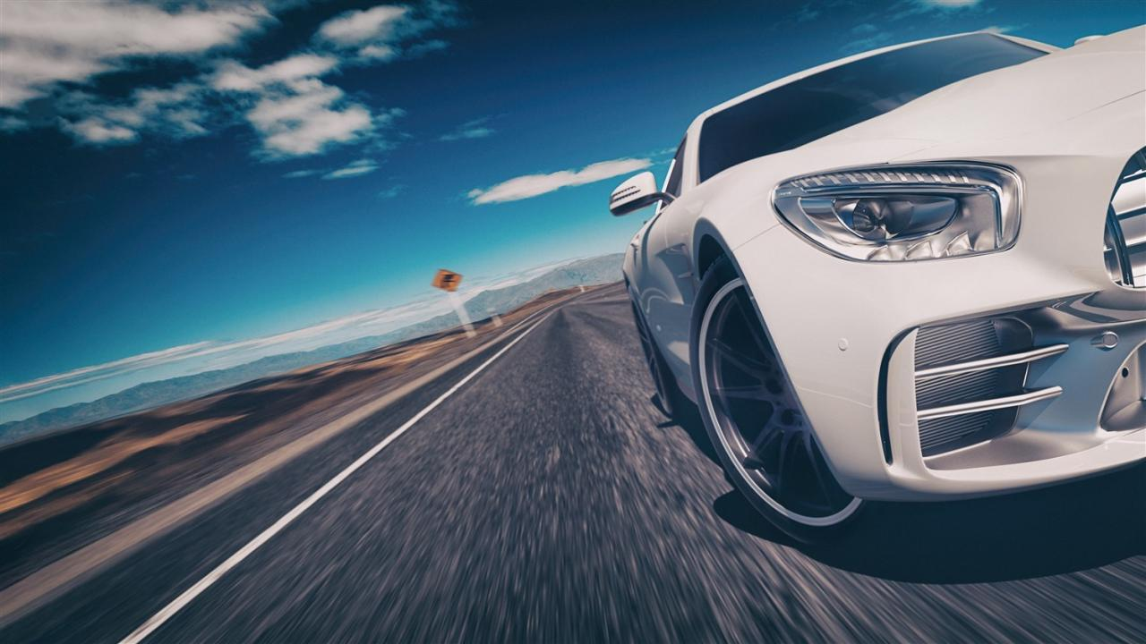 صور سيارة بيضاء في الحلم , تفسير رؤيه السيارة البيضاء