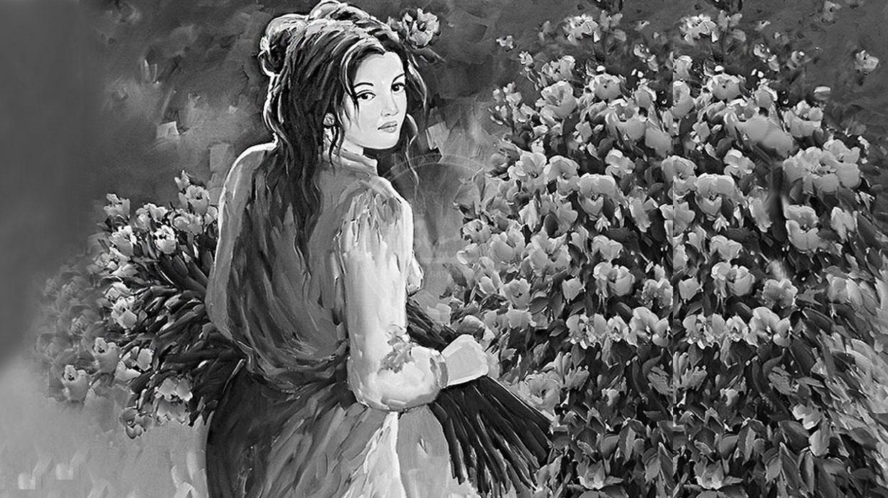صورة رواية بائعة الورد , روايه فى مسلسل شيق جدا