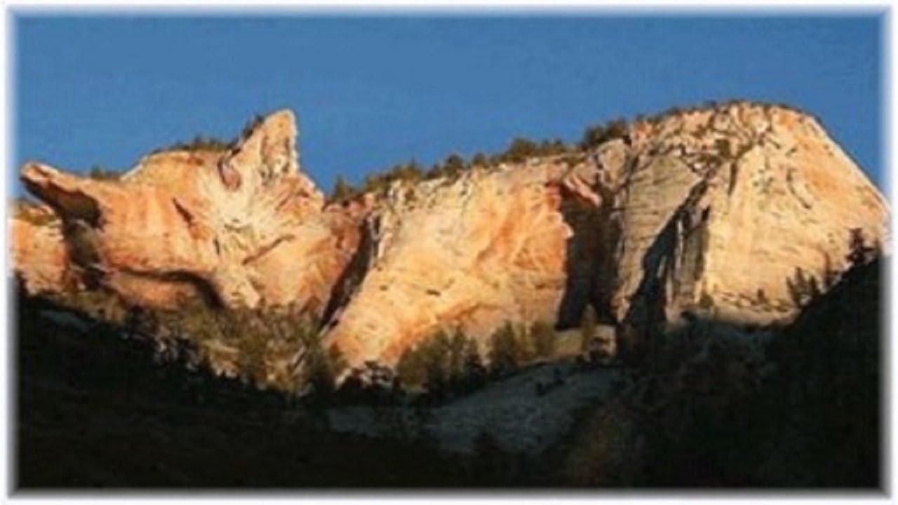 صورة اغرب جبل في العالم , جبال عند رؤيتها تنصدم
