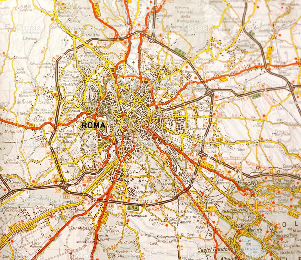 صورة كل الطرق تؤدي الى روما , القصه الحقيقيه وراء فتح روما والطرق التى تؤدى لها