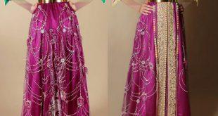 صور لباس عصري مغربي للمحجبات , ملابس مغربيه عصريه