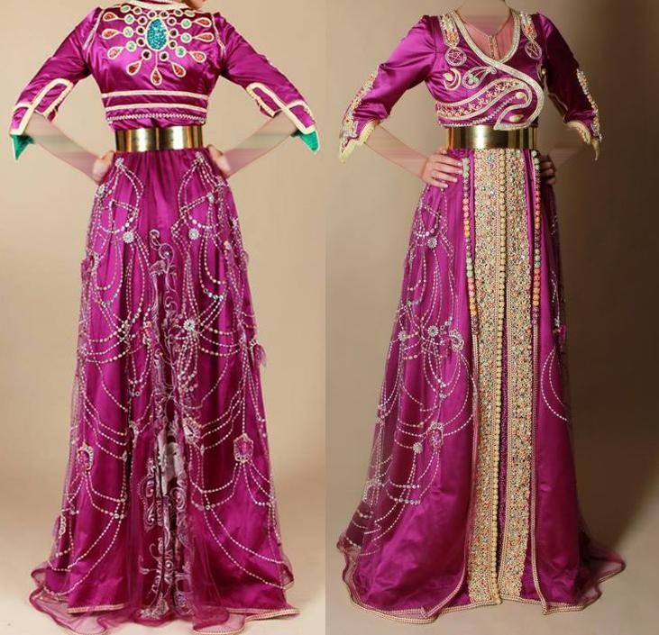 صورة لباس عصري مغربي للمحجبات , ملابس مغربيه عصريه