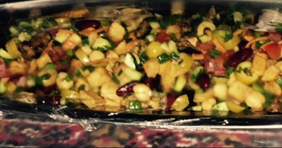 صورة سلطة الباذنجان والبطاطس بالصور , اشهى بطاطس وباذنجان