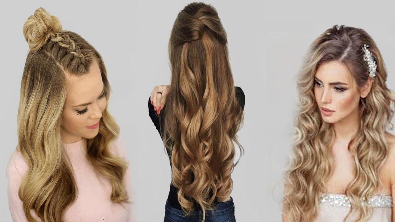 صور احدث تسريحات الشعر الطويل , الشعر الطويل وتسريحات تخبل